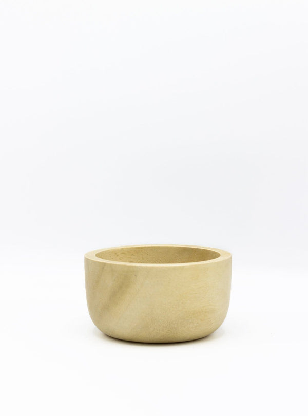 kinta Kitchen Acacia wood bowl - rustic bleached - 11cm