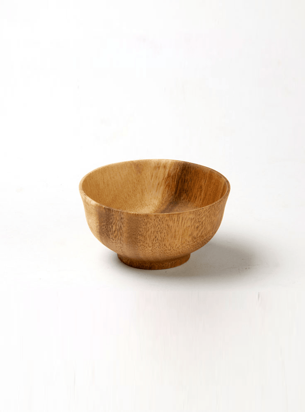 kinta Kitchen Japanes bowl - acacia wood - 8 cm