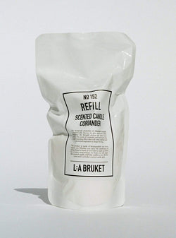 l:a bruket Candles Refill scented candle - coriander - 260 g