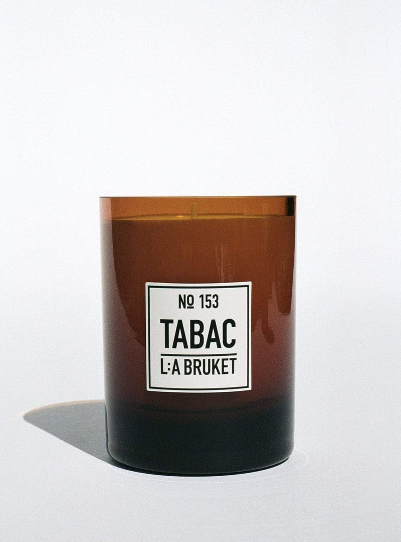 l:a bruket Candles Scented candle - tabac - 260 g