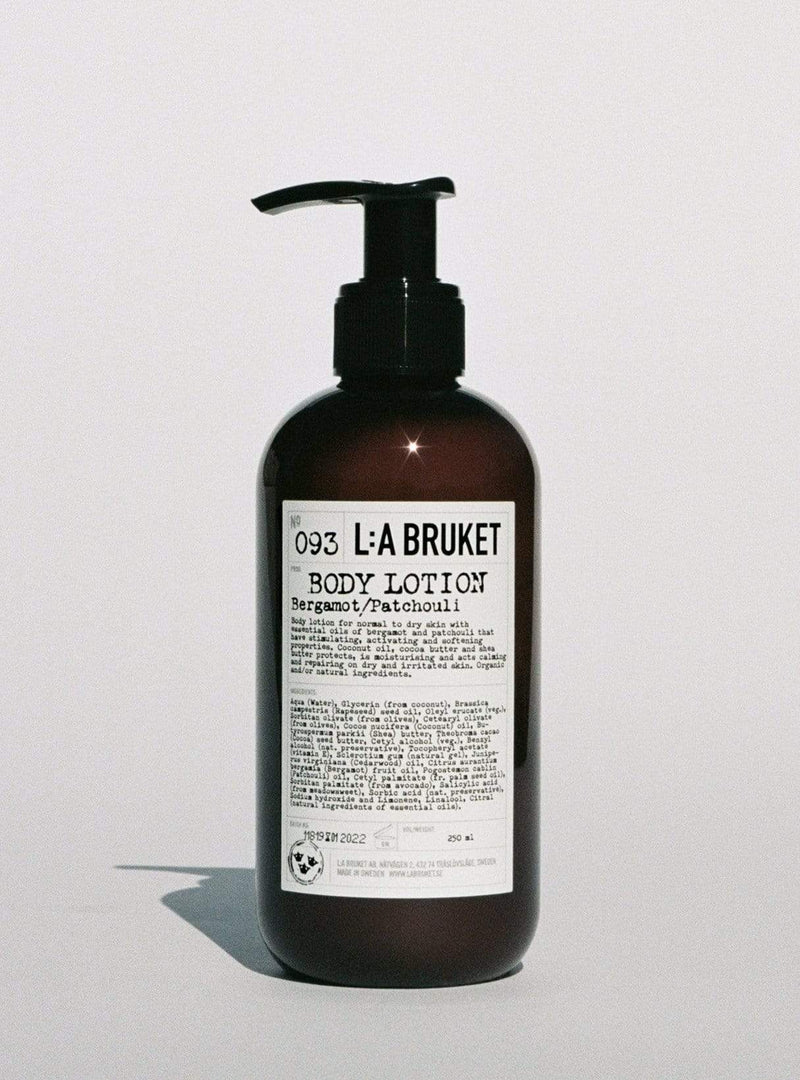 l:a bruket Womens body Body lotion - bergamot/patchouli 250 ml