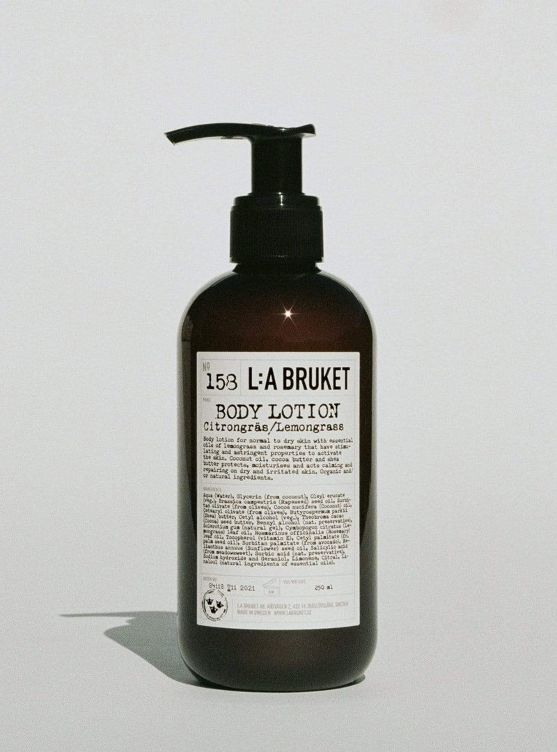 l:a bruket Womens body Body lotion - lemongrass - 240 ml