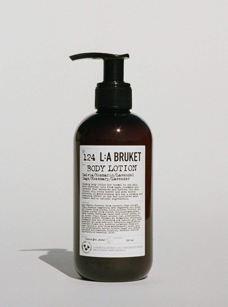 l:a bruket Womens body Body lotion - sage/rosemary/lavender 250 ml
