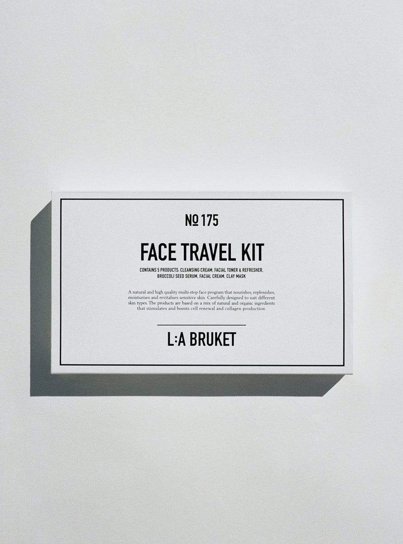 l:a bruket Womens face Face travel kit - 5 x 10 ml