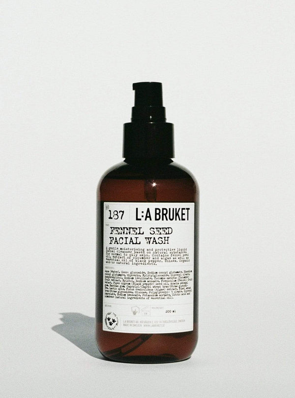 l:a bruket Womens face Fennel seed - facial wash - 190 ml