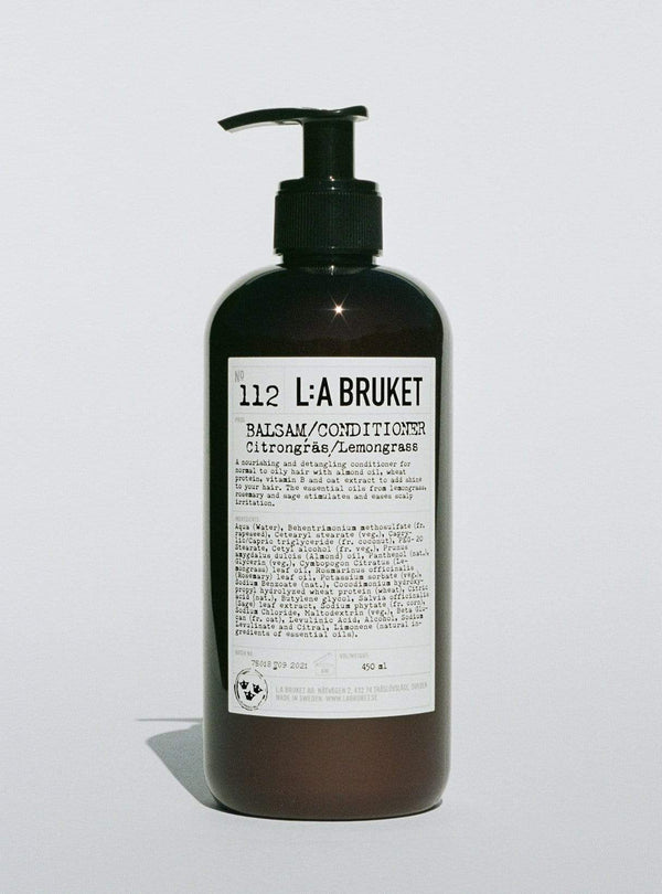 l:a bruket Womens haircare Conditioner - lemongrass 450 ml