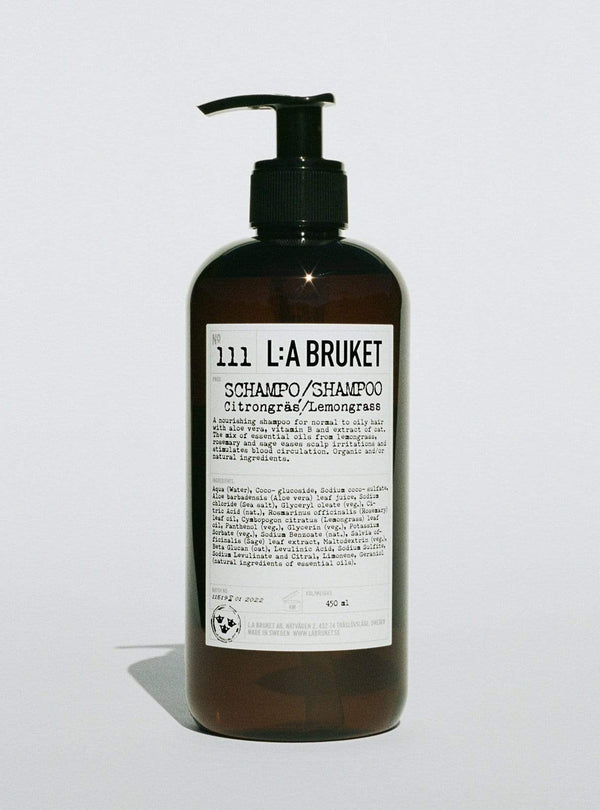 l:a bruket Womens haircare Shampoo - lemongrass - 450 ml