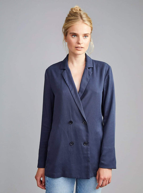 langerchen Womens coats Sheean - jacket - navy