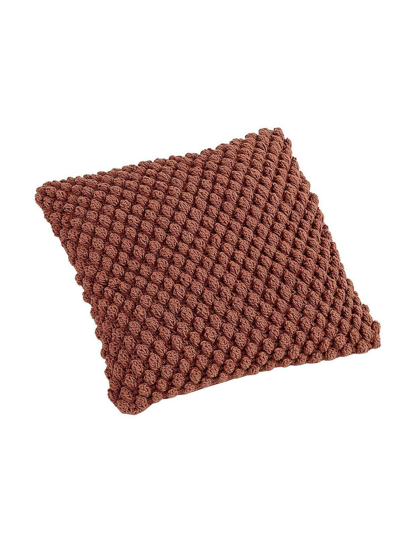 LIV interior home Pearl - crochet cushion cover - sierra - 45 x 45cm
