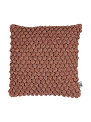 Pearl - crochet cushion cover - sierra - 45 x 45cm