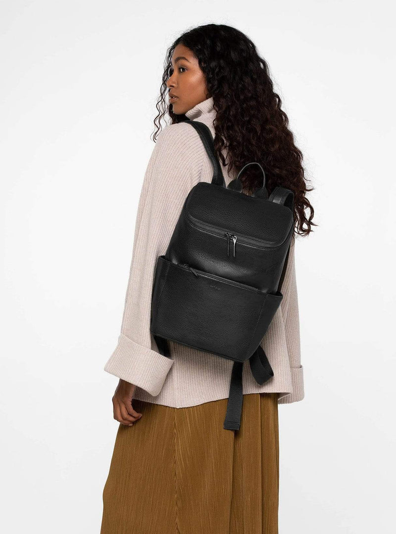 Matt & Nat bags Brave dwell - backpack - black