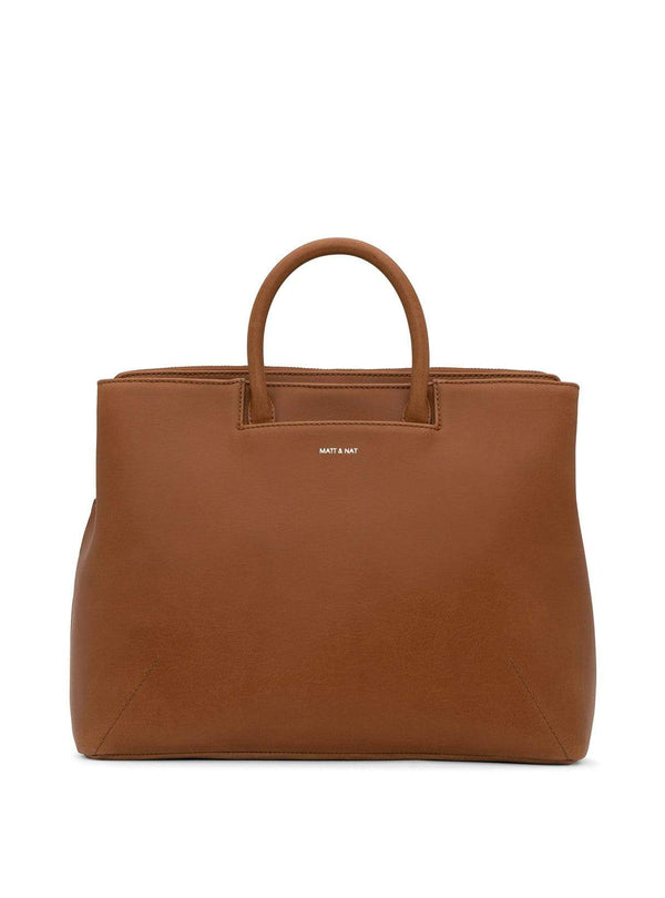 Matt & Nat bags Kintla vintage - satchel bag - chili matte nickel