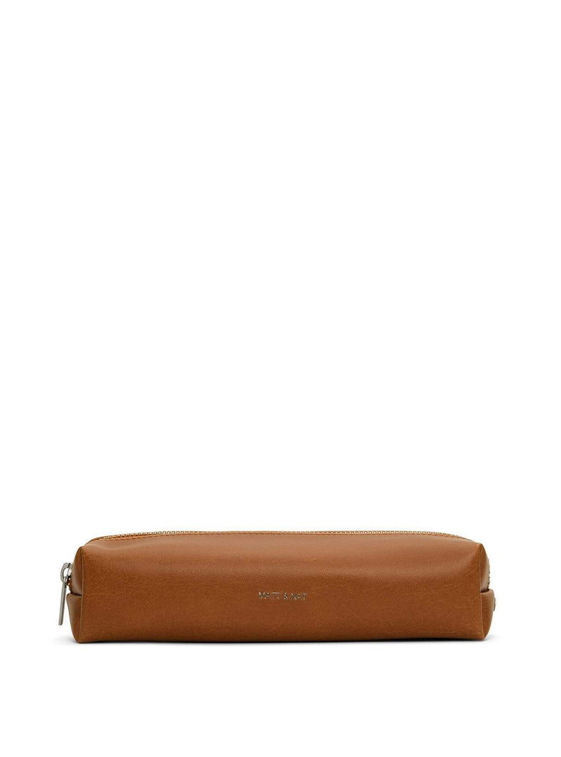 Matt & Nat bags Teckel - pencil case - chili matte nickel