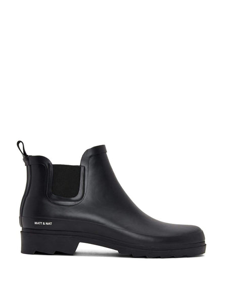Lane - rain boot - black