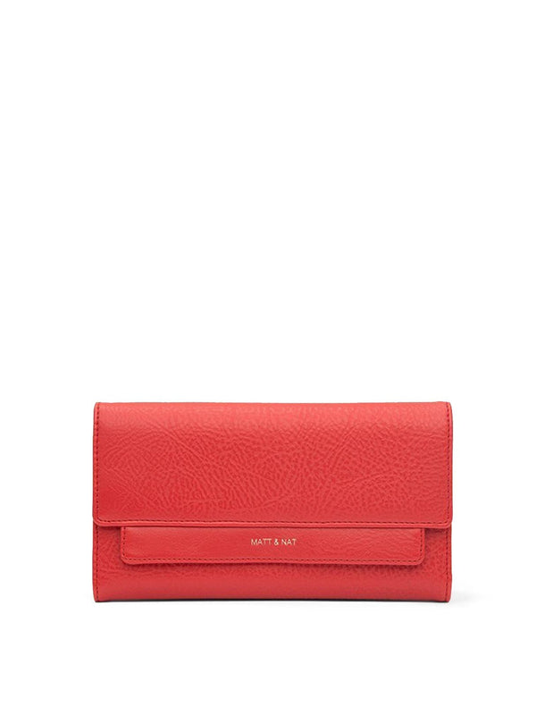 matt & nat Womens bags Ilda - dwell wallet - ruby