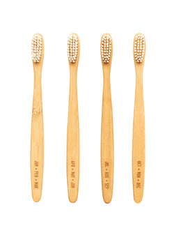 Men's Society care Bamboo toothbrushes