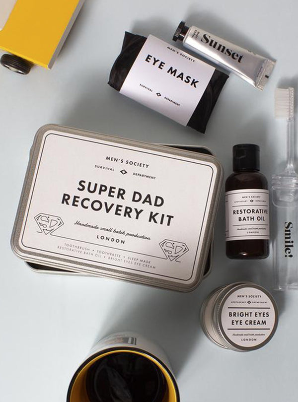 Men's Society care Super dad - recovery kit