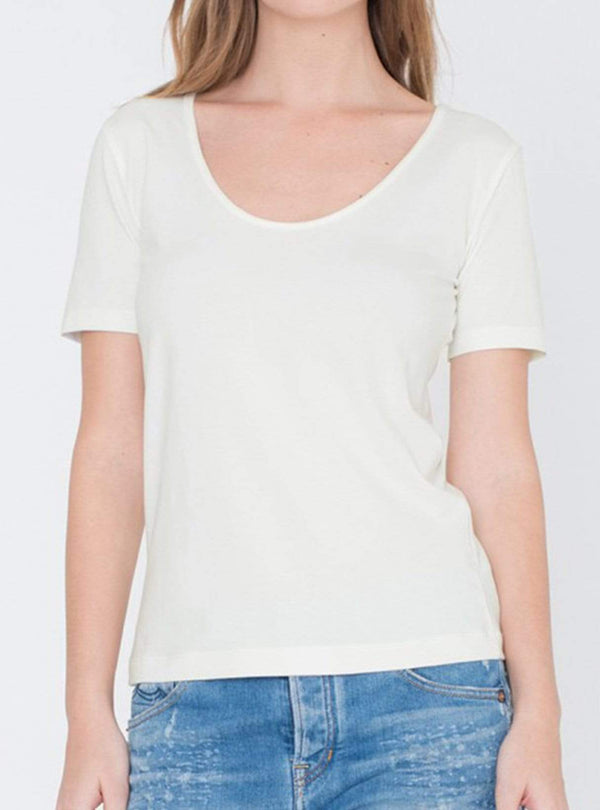 Miss Green shirts Elle - t-shirt - off white