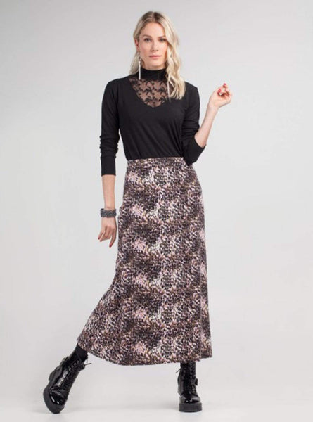 Good vibrations - skirt - sequins print