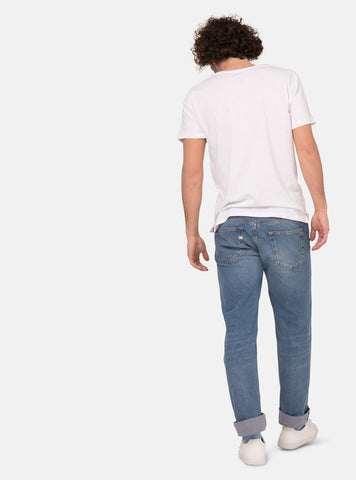 MUD Jeans jeans 28/32 Relax fred - jeans - heavy stone