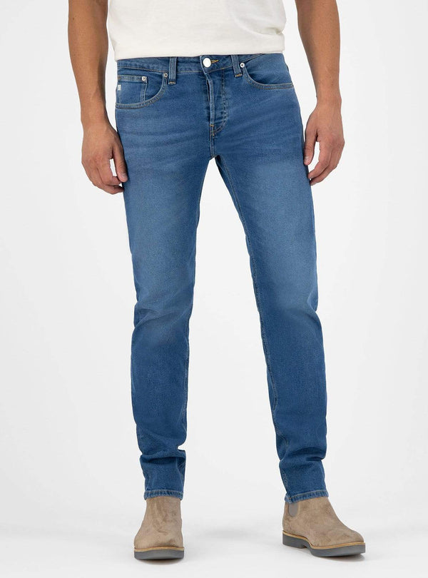 mud jeans Mens jeans Regular dunn - jeans - pure blue