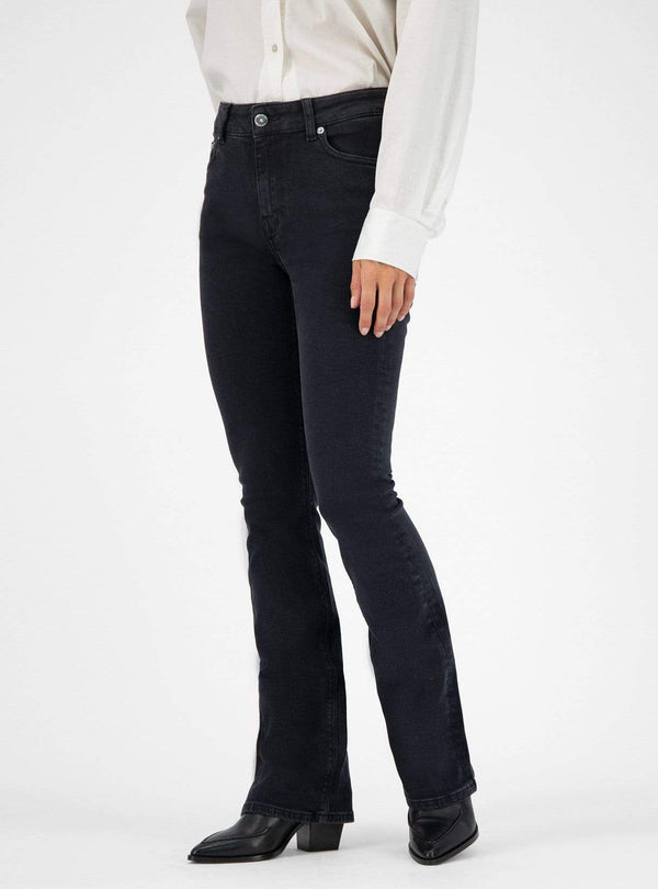 mud jeans Womens jeans Flared hazen - jeans - stone black