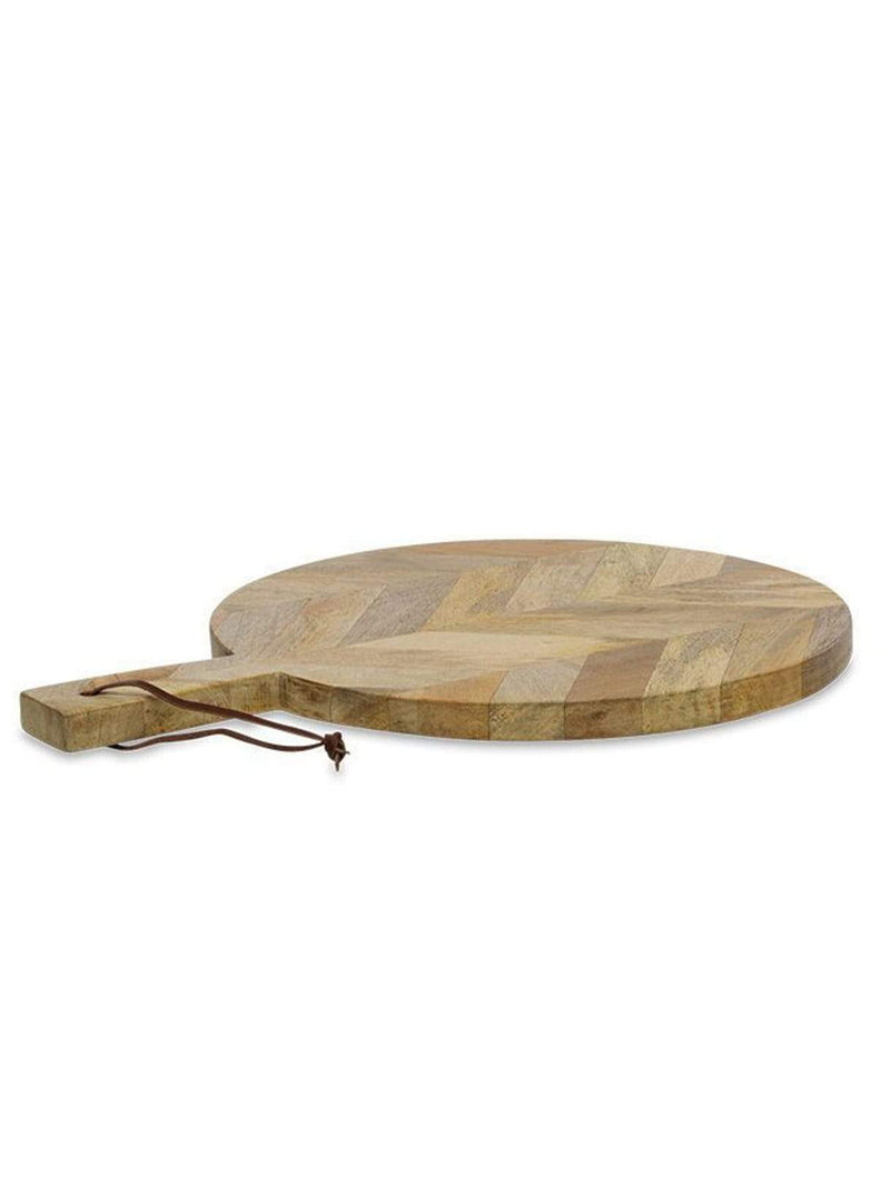 Nkuku home Nalbari - pizza board small - mango wood - 41 x 30cm