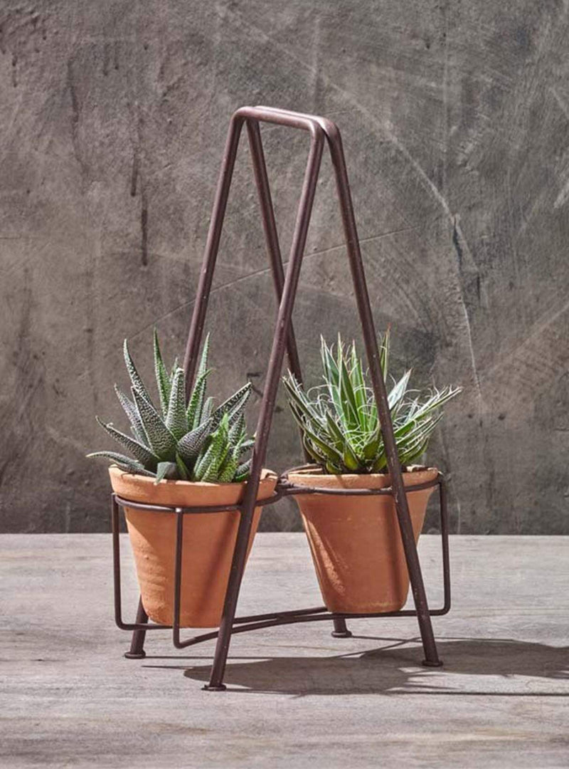 Jara double planter set - iron