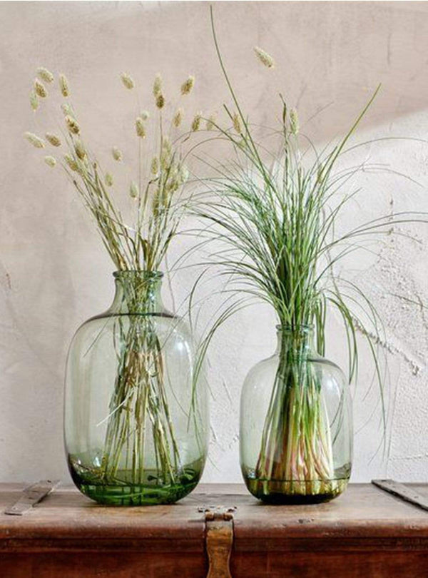 nkuku Living room Lua glass vase - small