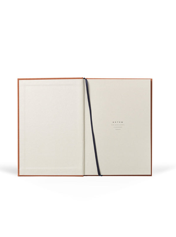 Notem stationary Planner weekly journal medium - sienna