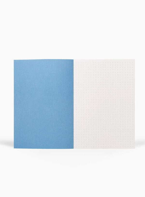 Notem stationary Vita notebook medium - light gray grid