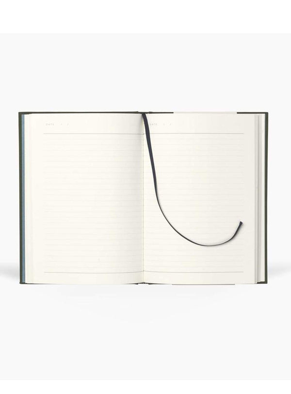 notem Stationery EVEN hardcover notebook medium - forest green