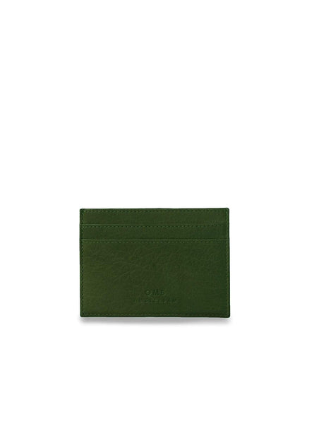 Mark's - cardcase - green soft grain leather