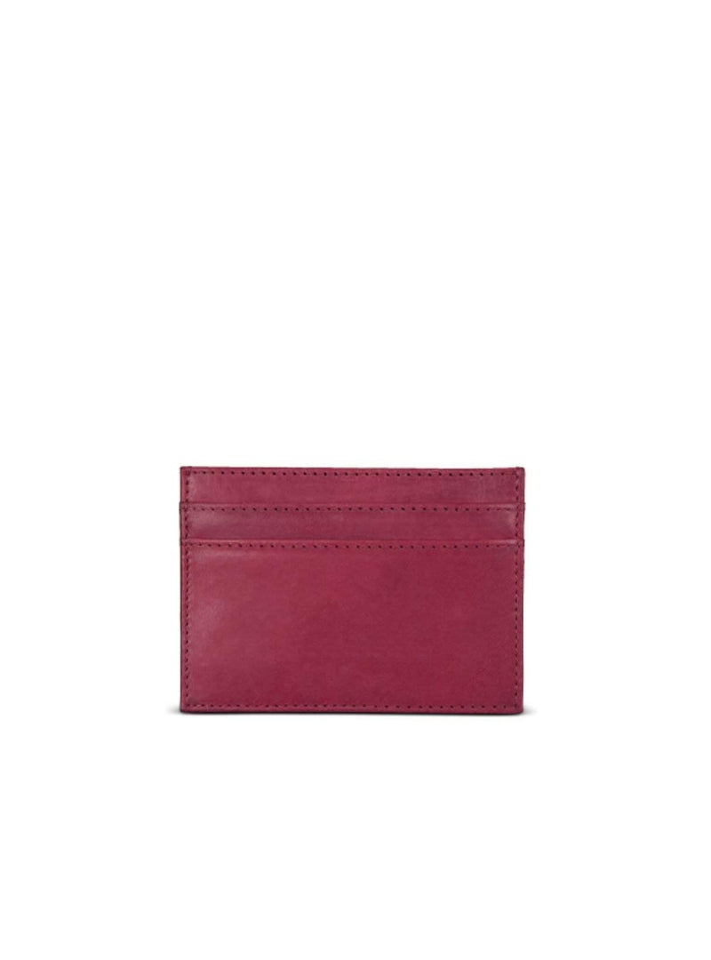 o my bag Womens bags Mark's - card case - ruby classic leather