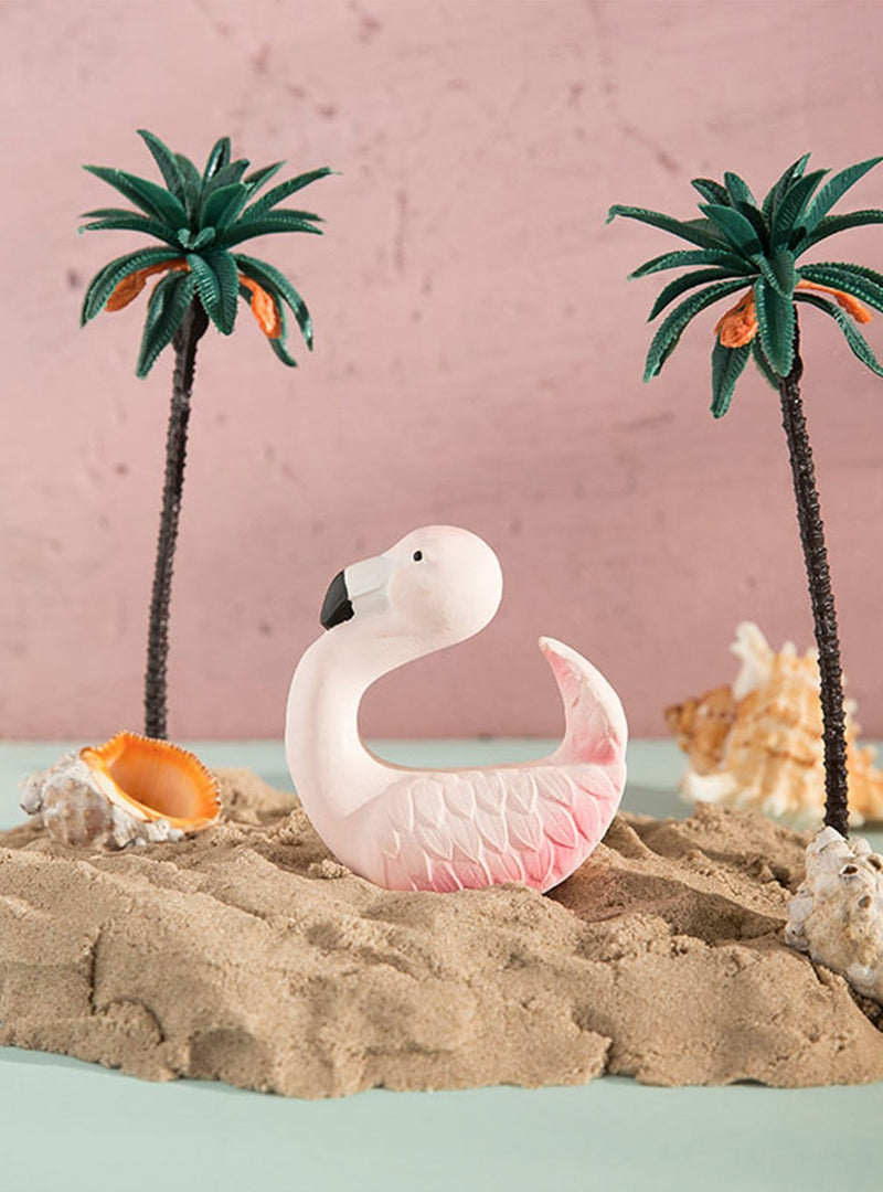 Oli&Carol baby Sky the flamingo bite toy - pink