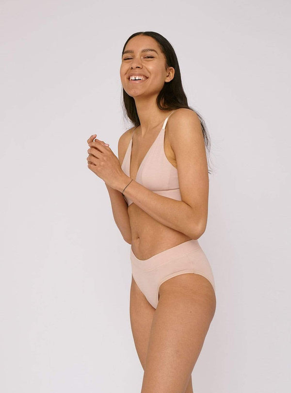 organic basics Swimwear Bikini briefs - rose nude - 2-pack