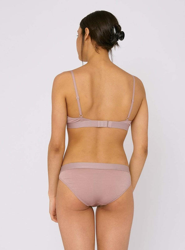 organic basics Womens accessories Soft touch - briefs - dusty rose - 2-pack
