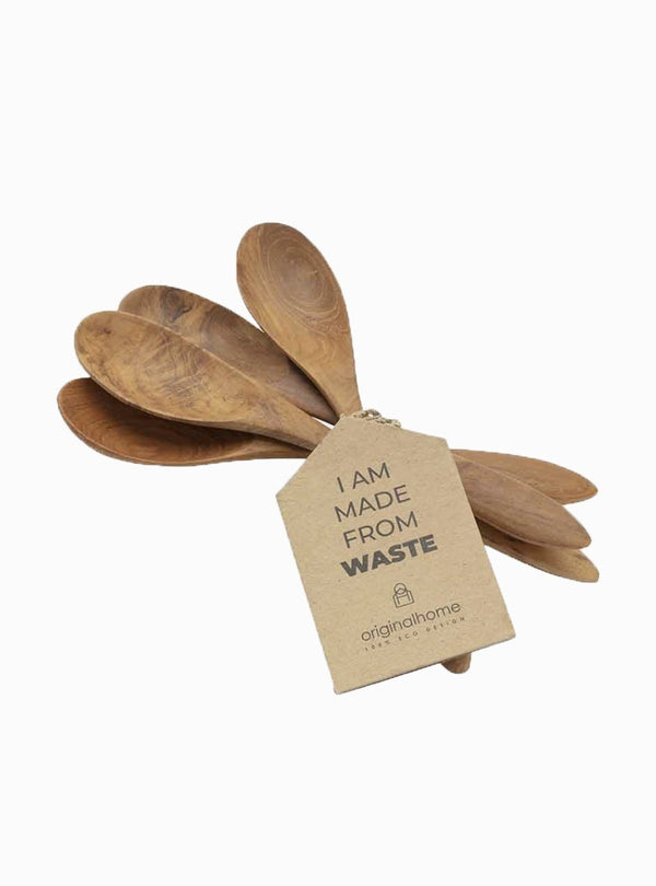 original home Kitchen Spoon reclaimed - teak
