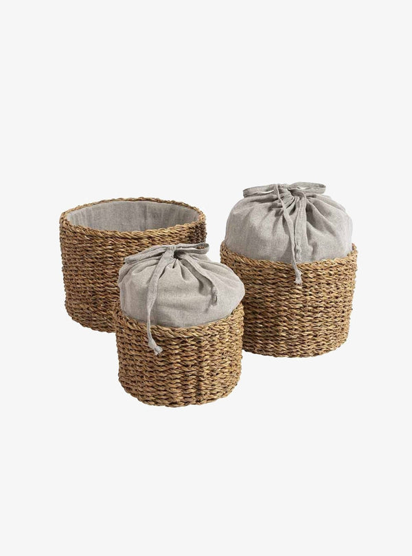 original home Living room Hogla basket - malloti - set of 3