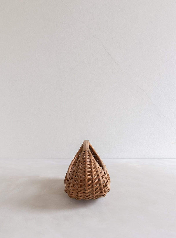 Eliott - vintage straw basket mini