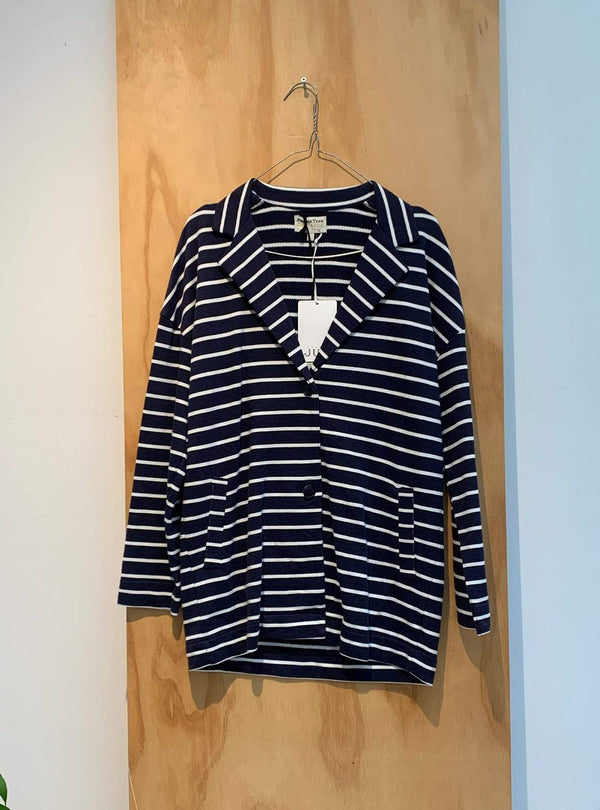 people tree Archive sale Striped blazer - blue/white