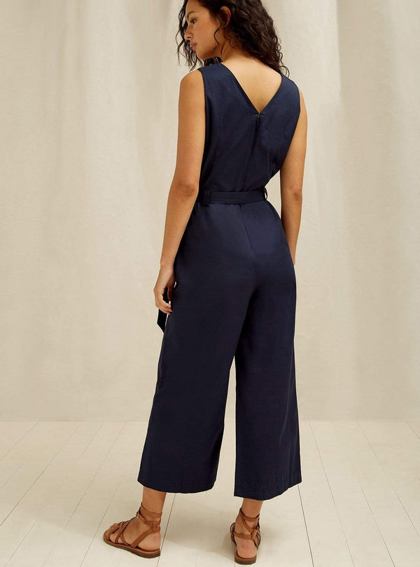 people tree Womens jumpsuits Vesta - jumpsuit - navy
