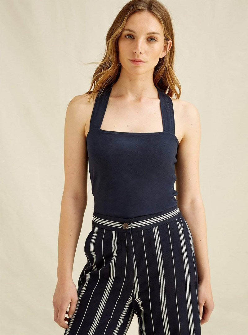 people tree Womens tops Kenzie - strappy top - navy
