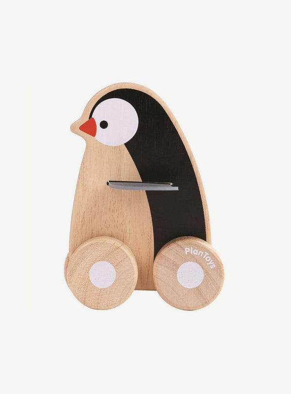 plan toys Kids toys Penguin wheelie
