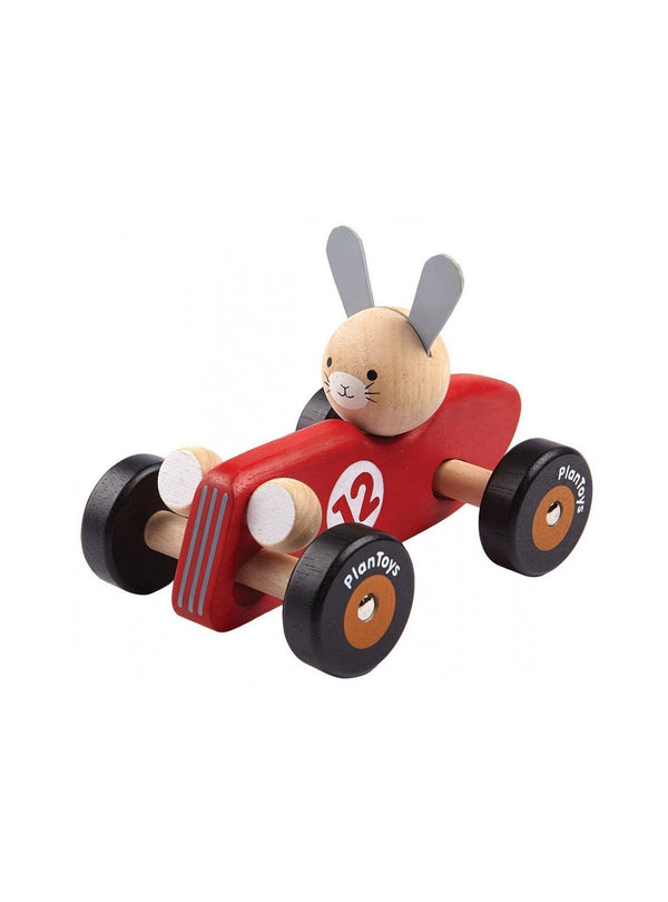 Plan Toys toy Racing car - rabbit
