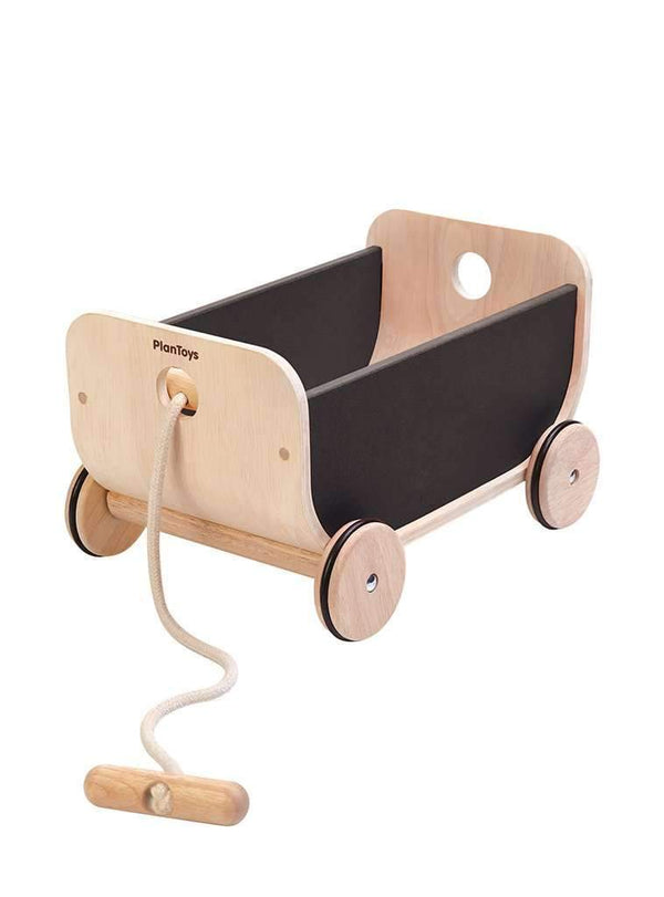 Plan Toys toy Wagon - black