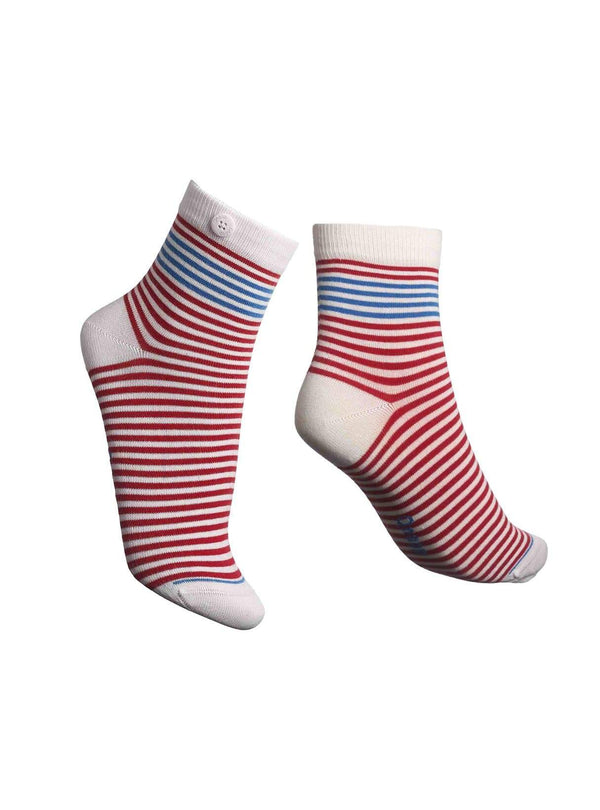 Qnoop socks Chamois roses - socks -  red