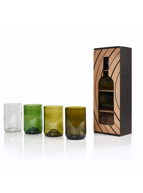 rebottled Tumbler 4-pack - colours