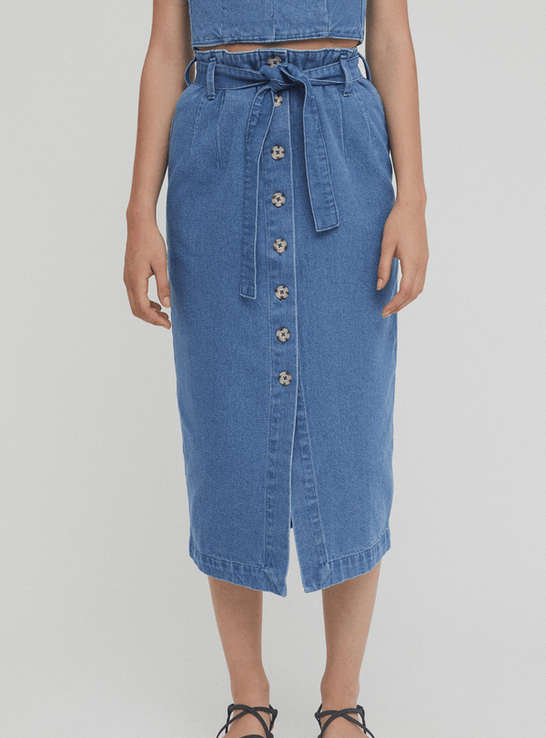 rita row Womens skirts Dixon - denim skirt