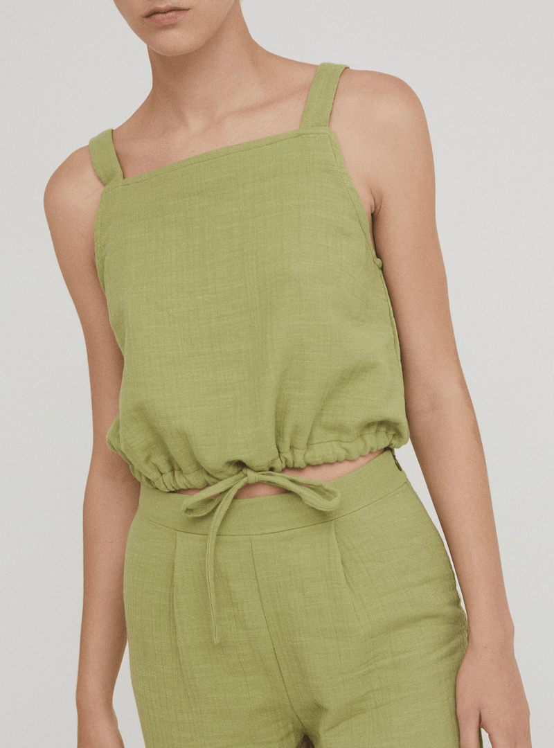 rita row Womens tops Orla - tank top - olive